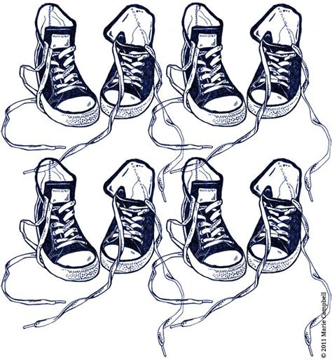 drawings of basketball shoes basketball shoes line drawing in blue pen by www