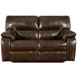 reclining leather sofa and loveseat exceptional designs canyon chocolate leather reclining
