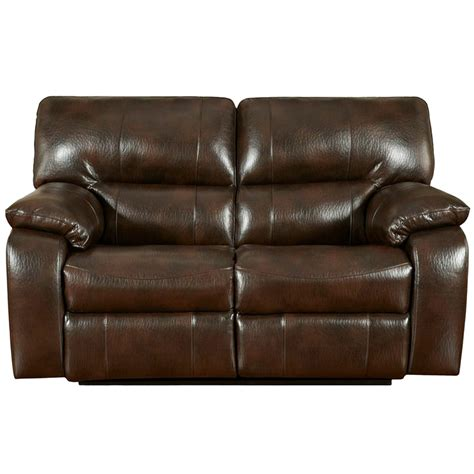recliner leather loveseat exceptional designs canyon chocolate leather reclining