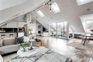 attic apartment ideas exclusive attic apartment style in stockholm decorazilla design blog