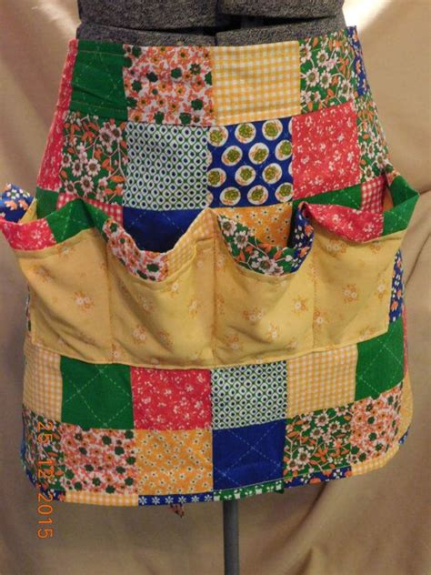 pattern for gathering apron novelty egg collecting gathering half apron quilting