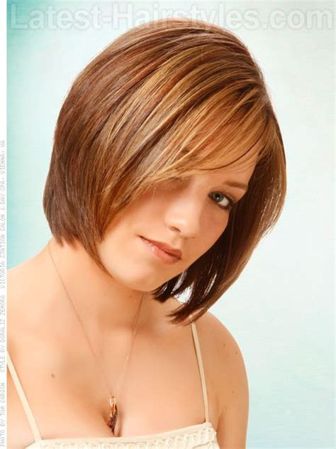 k mitchell short hairstyles with a soft bang layered locks light brown bob view 2 hairstyles