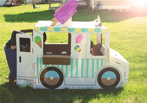 Organic Urban Gardening - ice cream truck toy nature moms blog 187 nature moms