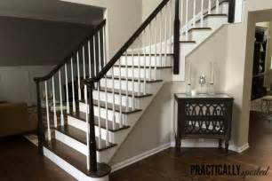 how to restain wood banister how to gel stain oak banisters