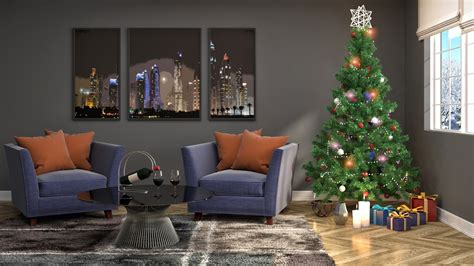 sala navideña decoracion navidea en casa top ideas de decoracin navidea