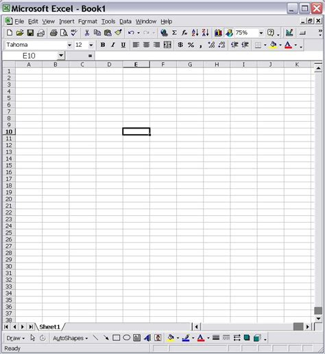 blank excel spreadsheet template samplebusinessresume