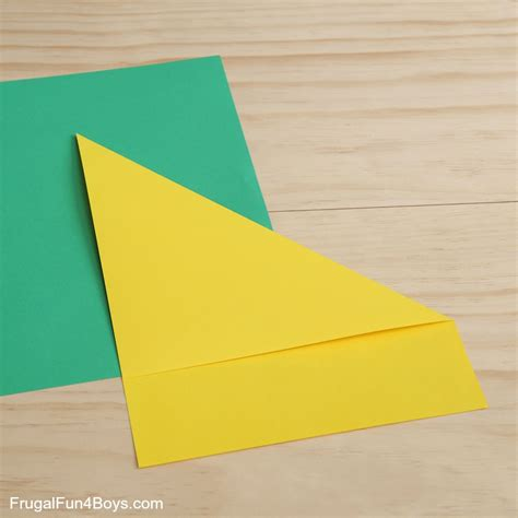 I You Paper Fold - how to fold paper frugal for boys and