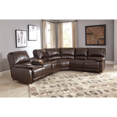 reclining sofa with massage signature design by ashley hallettsville power reclining