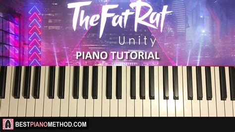 piano tutorial unity how to play thefatrat unity piano tutorial youtube