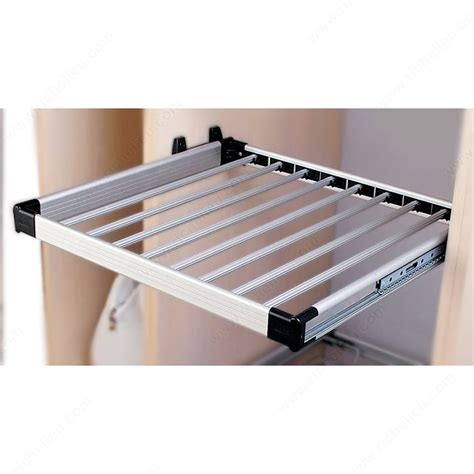 Pull Out Rack by Pull Out Aluminum Clothes Rack Richelieu Hardware