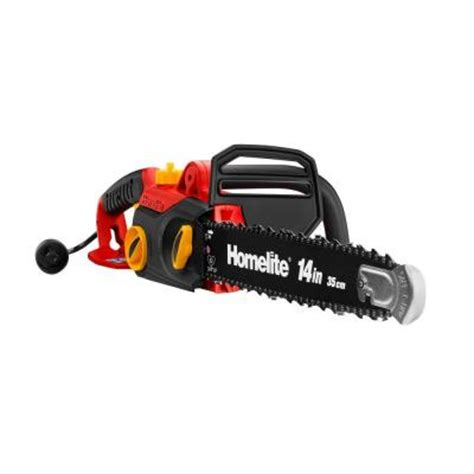 homelite 14 in 9 electric chainsaw ut43103a the