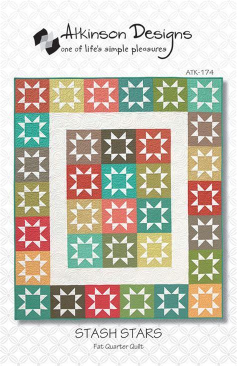 Atkinson Quilt Patterns by Stash Quilt Pattern Atkinson Designs Quarter