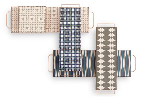 Cool Designer Flavia Pra by Flavia Pra Encourages You To Play With Stackable Trays
