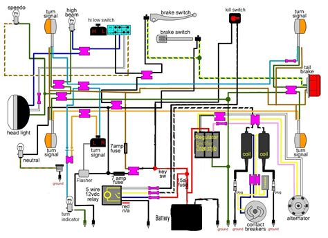 cb360 wiring diagram