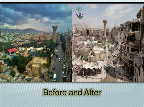 syria before and after syria 2011 to 2015