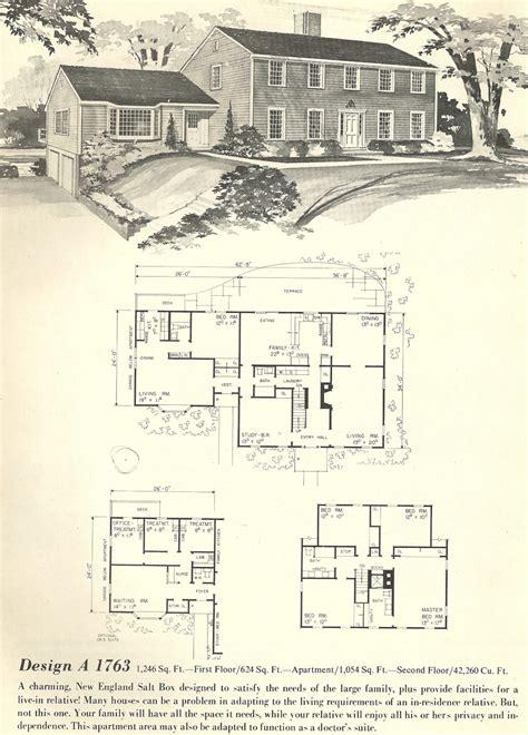 salt box house plans