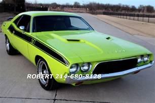 1968 Dodge Challenger 1973 Dodge Challenger Ta Rt Ralley 340 1969 1970 1971 1972
