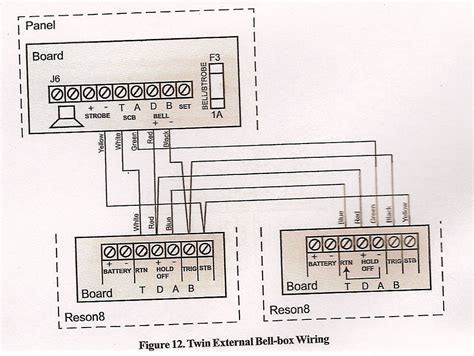 wiring diagram for alarm bell box image collections