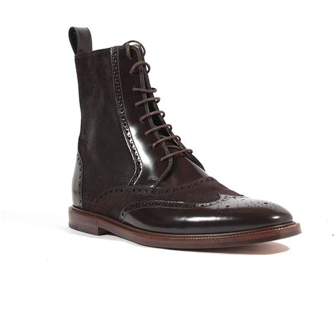 gucci mens boots 28 images leather boot with web gucci