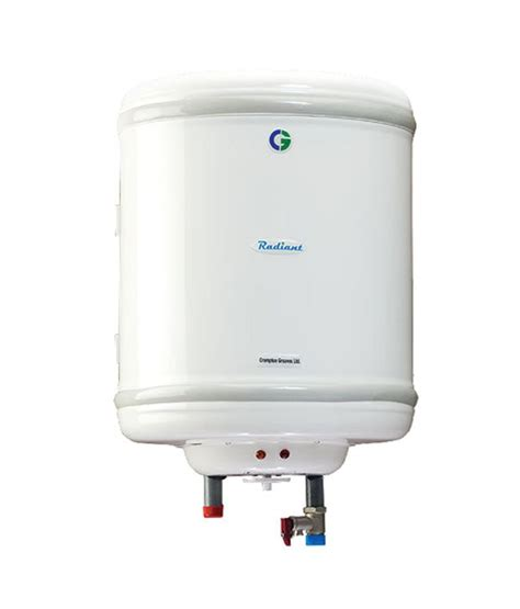 crompton greaves 6 ltr radiant swh406 geyser price in india buy crompton greaves 6 ltr radiant