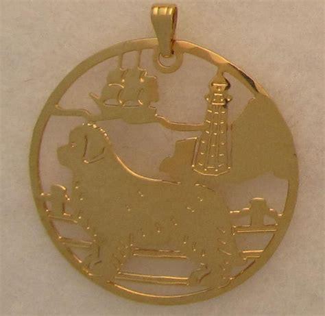 newfoundland jewelry gold pendant by touchstone ebay