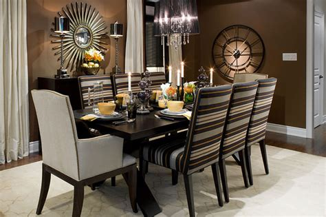 Brown Dining Rooms Lockhart Brown Black Dining Room Contemporary Dining Room Toronto By Lockhart