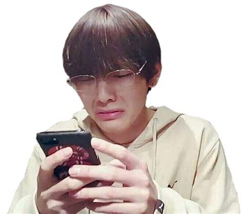 v meme bts meme taehyung v reaction sticker by ᴋaʀy