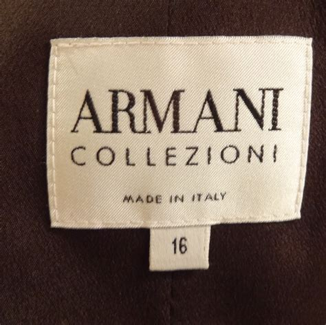 Labels For Armani by Big Busts Blazers And Thrift Shops Never Say Never