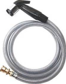 Kitchen Sink Sprayer Hose Repair New Plumb Pak Pp815 4 Black Kitchen Sink Replacement Sprayer Hose 4131389 Ebay