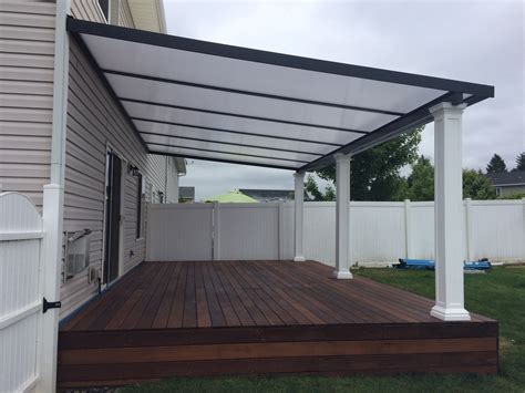 patio awning covers patio cover gallery awnings deck covers portland or