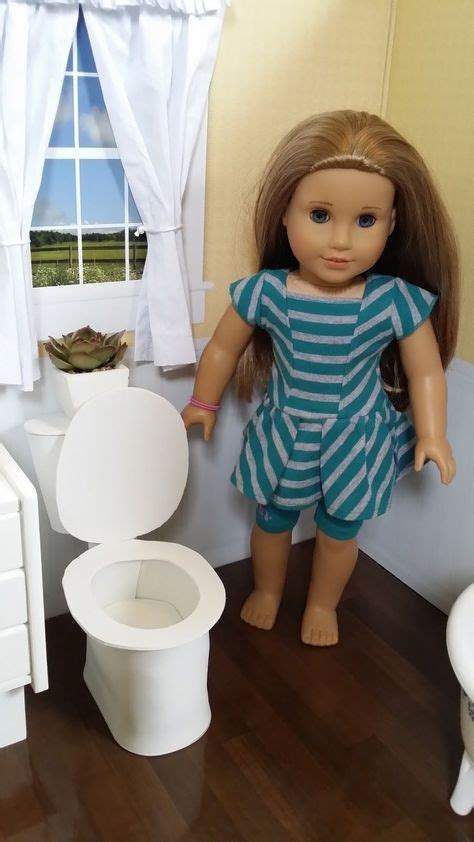 New Generation Toilet Toilet Mini Box Toilet Via Gosend Bandung Diy 18 Quot Doll American Dollhouse On 41 Pins