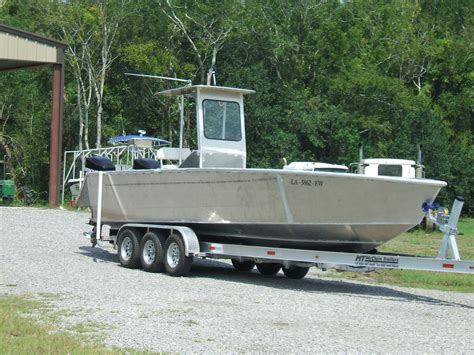 custom aluminum work boats 2010 31 custom aluminum v hull the hull truth