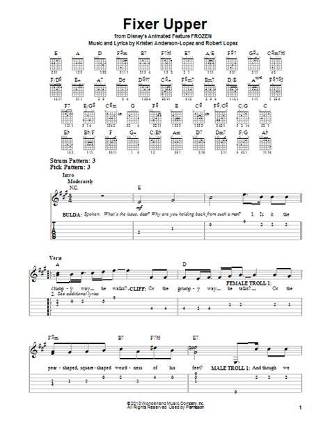 fixer upper sheet music direct