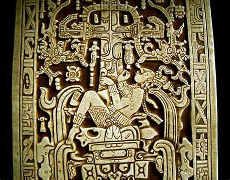 king lord pakal breathing in the universe