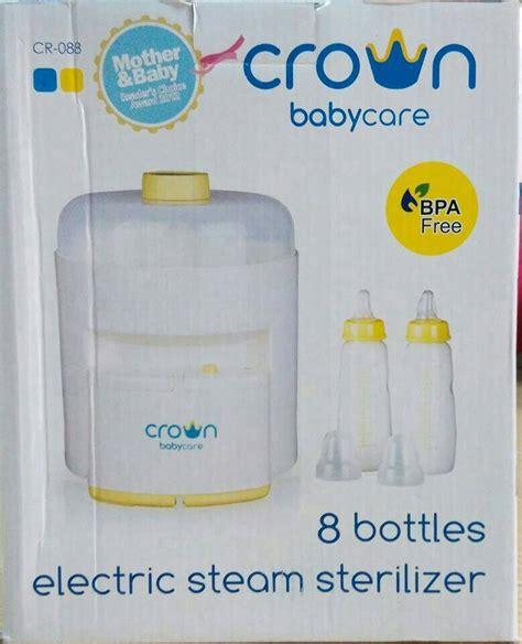 Crown Steril Botol 2 Tingkat alat pensteril botol persembahan terbaik untuk buah hati harga jual