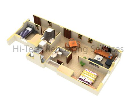 3 Bedroom Ranch Home Floor Plans by 3d Floor Plan Design Floorplans Modeling Rendering Hi