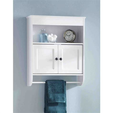 White Bathroom Wall Cabinet White Bathroom Wall Cabinet With Towel Bar Temasistemi Net