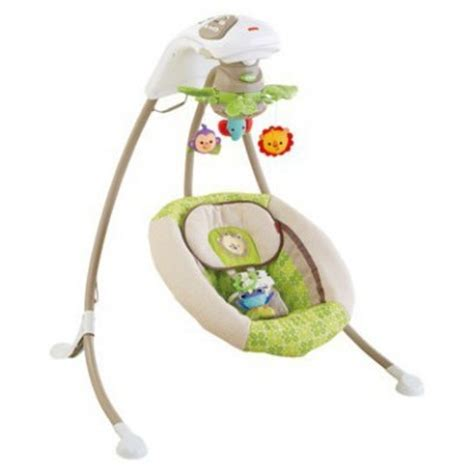 fisher price cradle n swing rainforest rainforest friends deluxe cradle n swing best