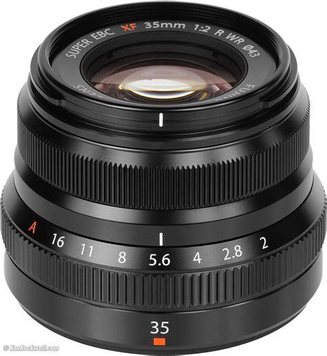 Fujinon 35mm F2 fuji 35mm f 2 wr review