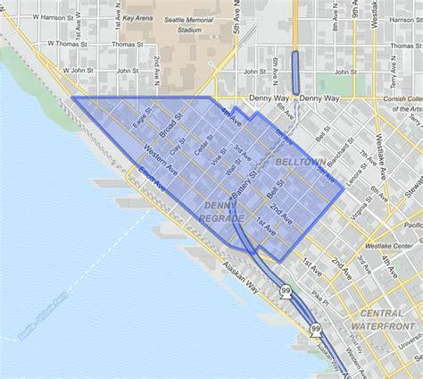 seattle map belltown mosler lofts stroupe luxury real estate