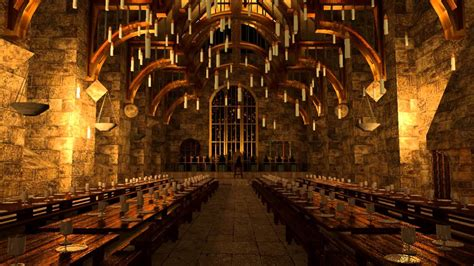 the great hall harry potter hogwarts great hall youtube