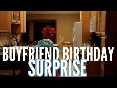 boyfriend birthday surprise youtube