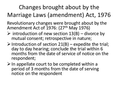 hindu marriage act section 13 b marriage uner hindu law