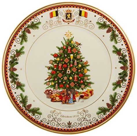 lenox xmas tree plate france lenox belgium 2016 trees around the world collectors plate import it all