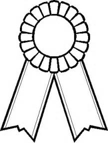 1st Prize Ribbon Template by Prize Ribbon Picture To Print And Color