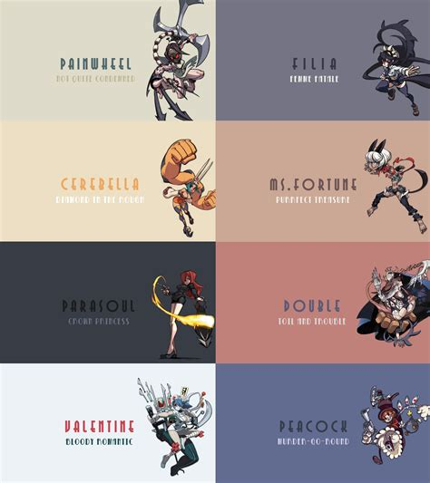 Peacock Wallpapers skullgirls hd wallpaper pack 1920x1080 by dejakob on