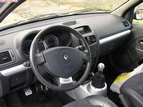 renault clio sport interior renault clio sport v6 venta de coches de competici 243 n