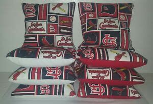 St Louis Cardinals Bean Bag Chair by Set Of 8 St Louis Cardinals Bean Bags Free