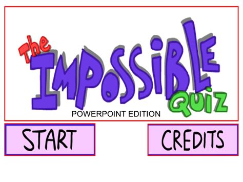 theme impossible quiz the impossible quiz powerpoint edition v1 0