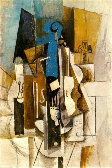 picasso paintings cafe pablo picasso violon au cafe violon verre bouteille